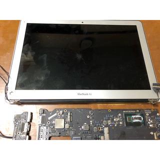 アップル(Apple)のMac book air a1466 ジャンク(PCパーツ)