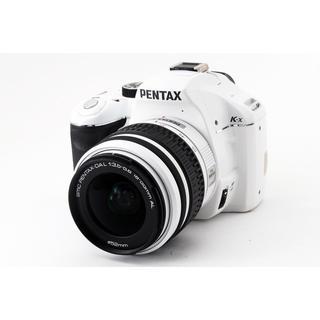 ペンタックス(PENTAX)の☆WiFiカード付き!おしゃれなホワイト☆ペンタックス K-x レンズキット(デジタル一眼)