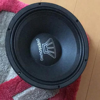 oversound 2発 ミッドスピーカー 30cm 12インチ(カーオーディオ)