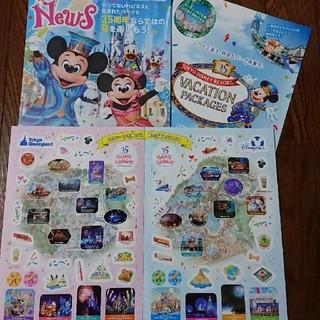 ディズニー(Disney)のディズニー35周年 (印刷物)
