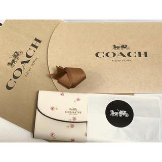 コーチ(COACH)の正規品♡新品未使用 COACH コーチ キーケース 花柄 フラワー  6連フック(キーケース)
