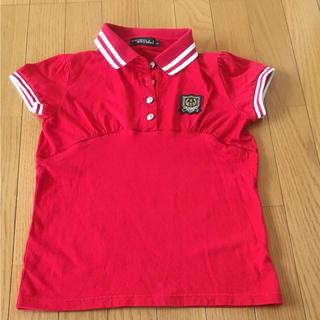 ブルークロス(bluecross)のブルークロス 赤のポロシャツ(Tシャツ/カットソー)