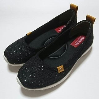 ボブソン(BOBSON)のBOBSON パンプス 黒 ブラック 23cm Mサイズ ローヒール 靴(ハイヒール/パンプス)