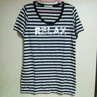 ローリーズファーム(LOWRYS FARM)のボーダーTシャツ(Tシャツ(半袖/袖なし))