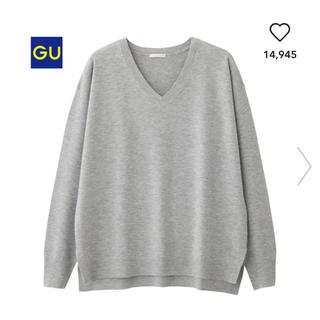 ジーユー(GU)のGU gu ジーユー Vネックセーター Vネック セーター ニット(ニット/セーター)