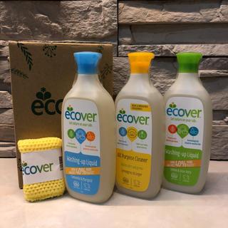 エコベール洗剤セット(洗剤/柔軟剤)