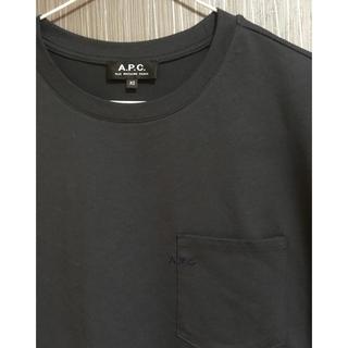アーペーセー(A.P.C)の新品 APC A.P.C. ポケット Tシャツ ロゴ刺繍 2018 XSサイズ(Tシャツ/カットソー(半袖/袖なし))