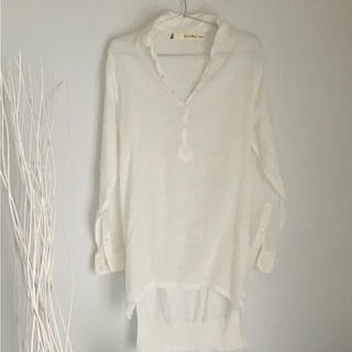 ブランバスク(blanc basque)のブランバスク シャツ セレクトショップ購入 定価15000(シャツ/ブラウス(長袖/七分))