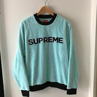シュプリーム(Supreme)のsupreme terry トップス(Tシャツ/カットソー(七分/長袖))