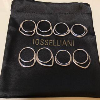 イオッセリアーニ(IOSSELLIANI)のイオッセリアーニ iosselliani シルバー 8連 リング(リング(指輪))