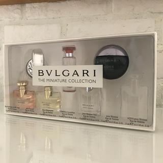 ブルガリ(BVLGARI)のBVLGARI 【新品】ブルガリ ミニ香水セット(ユニセックス)