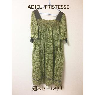 アデュートリステス(ADIEU TRISTESSE)のADIEU TRISTESSE リバティ ワンピース(ロングワンピース/マキシワンピース)