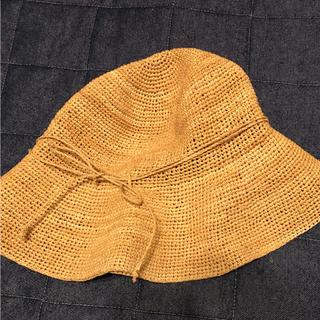 ムジルシリョウヒン(MUJI (無印良品))の無印良品 キャペリン ラフィア (麦わら帽子/ストローハット)