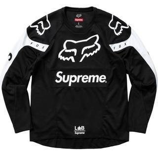 シュプリーム(Supreme)のSサイズ Supreme Fox Racing Moto Jersey Top (Tシャツ/カットソー(半袖/袖なし))