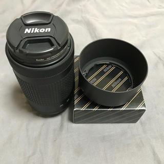ニコン(Nikon)の保証残あり フィルター、純正フード付 AF-P DX 70-300mm(レンズ(ズーム))