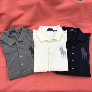 ポロラルフローレン(POLO RALPH LAUREN)のポロシャツ 長袖 XS(ポロシャツ)
