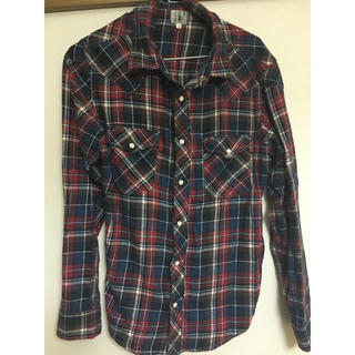 タケオキクチ(TAKEO KIKUCHI)のタケオキクチ チェックシャツ(シャツ)