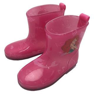 ディズニー(Disney)の【新品・送料無料】アリエル 15cm レインシューズ/長靴 ピンク(長靴/レインシューズ)