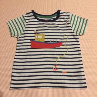 ボーデン(Boden)のBoden Tシャツ 18〜24month✴︎船釣りの柄(Tシャツ/カットソー)