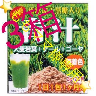ももママ様⭐️ 送料込⭐️青汁 3箱90包 野菜不足の方 ゴーヤ 大麦若葉 ケー(青汁/ケール加工食品)