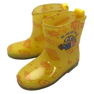 ディズニー(Disney)の【新品・送料無料】ミニオンズ 15cm レインシューズ/長靴 イエロー(長靴/レインシューズ)