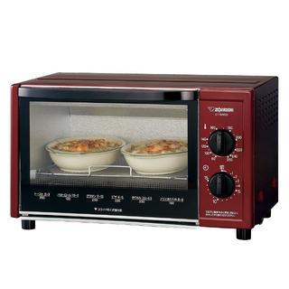 象印 オーブントースター温度調節機能 ET-WM22-RM (電子レンジ)