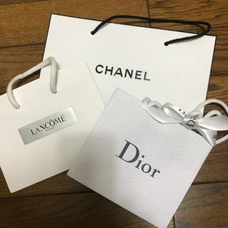 シャネル(CHANEL)のシャネル ディオール ランコムのショップ袋(ショップ袋)