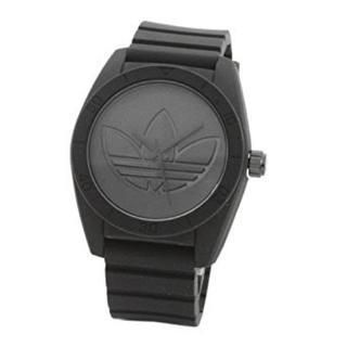 アディダス(adidas)の新品 adidas 腕時計 ユニセックス ADH3199 黒 軽量 着け心地いい(腕時計(アナログ))