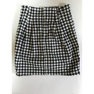 ジーユー(GU)のチェックのスカート(ミニスカート)