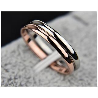 リング 指輪 シンプル チタン シルバー(リング(指輪))