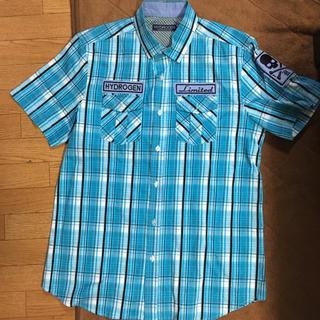 ハイドロゲン(HYDROGEN)の半袖チェックシャツ(シャツ)
