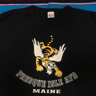 バズリクソンズ(Buzz Rickson's)のBUZZ RICKSON タイガー フロッキープリント 美品(Tシャツ/カットソー(半袖/袖なし))