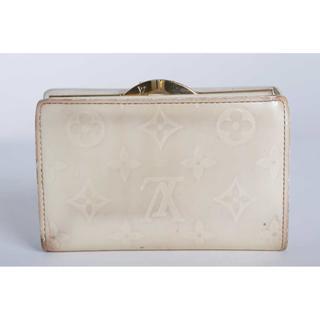 ルイヴィトン(LOUIS VUITTON)の本物 ルイヴィトン ヴェルニ がま口二つ折り財布 まだま使える(財布)