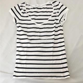 ザラ(ZARA)のボーダーTシャツ◆zara(Tシャツ(半袖/袖なし))