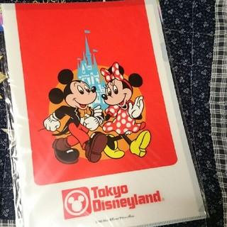 Disney - 25周年 限定 クリアファイル