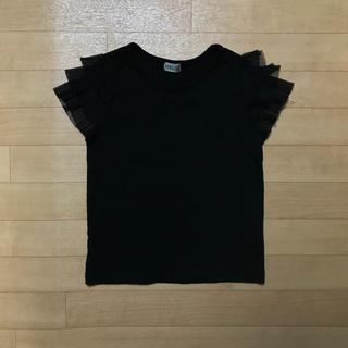 シマムラ(しまむら)の袖レース  Tシャツ(Tシャツ/カットソー)