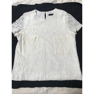 ザラ(ZARA)のザラ レース シャツ(シャツ/ブラウス(半袖/袖なし))