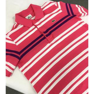 ラコステ(LACOSTE)のラコステ LACOSTEポロシャツ 【試着のみ極美品】size2 lacoste(ポロシャツ)
