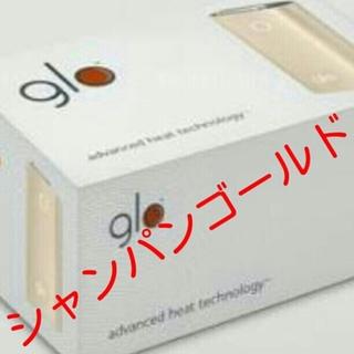 グロー(glo)の新品未開封glo  シャンパンゴールド(タバコグッズ)