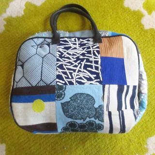 ミナペルホネン(mina perhonen)のミナペルホネン pieceピースバッグ・ハンドバッグ・ブルー系(ハンドバッグ)