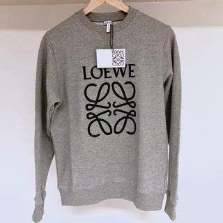LOEWE - 【新品未使用】LOEWE Anagram Sweatshirt Grey S