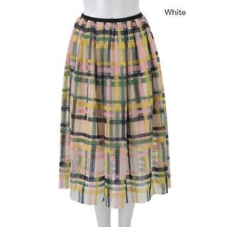 チェスティ(Chesty)のchesty  チェックスカート size1(ひざ丈スカート)
