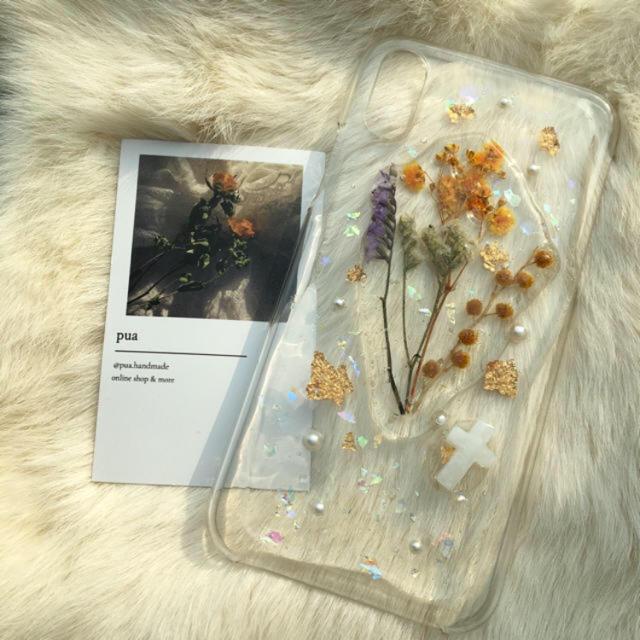 iPhone case 【iPhoneX】 ハンドメイドのスマホケース/アクセサリー(スマホケース)の商品写真