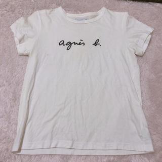 アニエスベー(agnes b.)のagnes.b アニエス・ベー ロゴTシャツ(Tシャツ(半袖/袖なし))