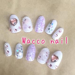 Wacco*メルヘンハートジェルネイルチップ(つけ爪/ネイルチップ)