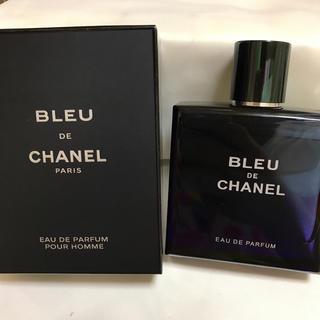 シャネル(CHANEL)のCHANEL ブルードゥシャネオードパルファム 100ml 未使用(香水(男性用))