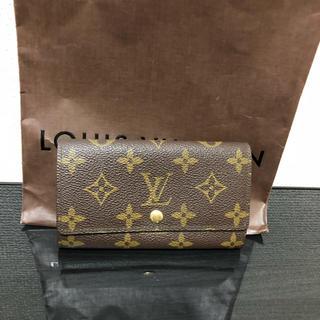 ルイヴィトン(LOUIS VUITTON)のルイヴィトン モノグラム ポルトモネジップ(折り財布)