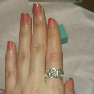 ティファニー(Tiffany & Co.)のティファニー トリプルラビングハートリング(リング(指輪))