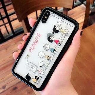 送料込!スヌーピー   クリア iPhone ケース