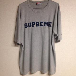 シュプリーム(Supreme)のsupreme champion コラボTシャツ 古着(Tシャツ/カットソー(半袖/袖なし))